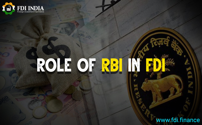 Role of RBI in FDI