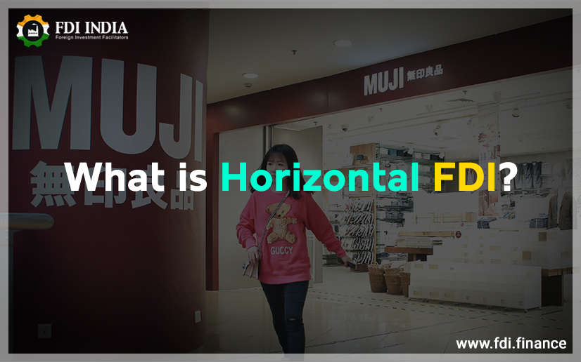 What is horizontal FDI