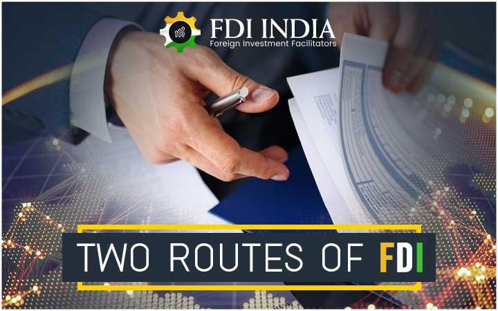 Two Routes of FDI