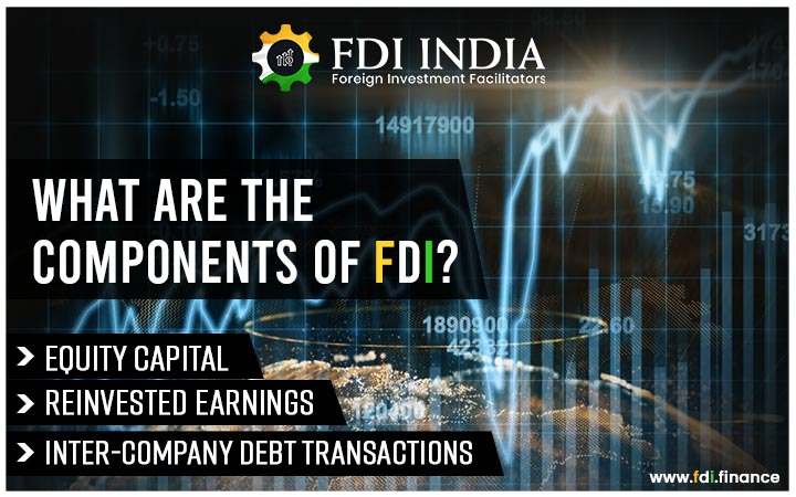 What are the components of FDI