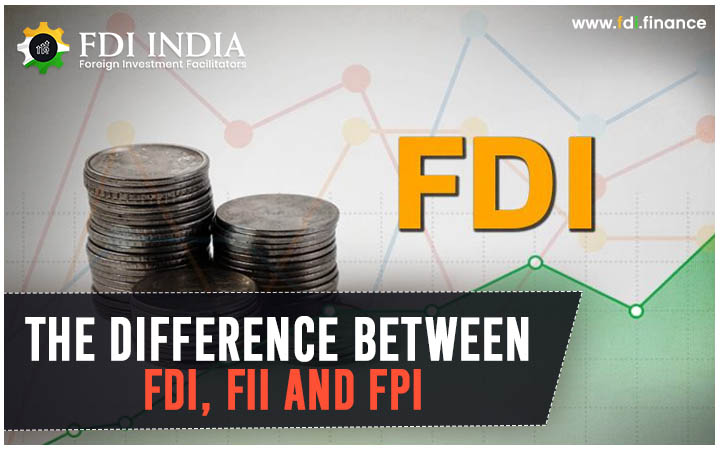 THE DIFFERENCE BETWEEN FDI, FII AND FPI