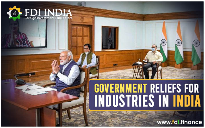 Government Reliefs for Industries in India