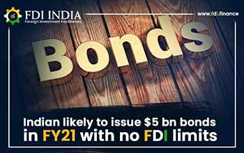 Indian Likely To Issue $5 Bn Bonds in FY21 with No FDI Limits