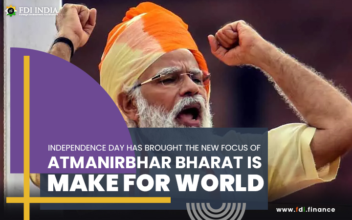 Independence Day Has Brought The New Focus Of Atmanirbhar Bharat Is Make For World