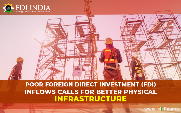 Poor Foreign Direct Investment (FDI) Inflows Calls for Better Physical infrastructure