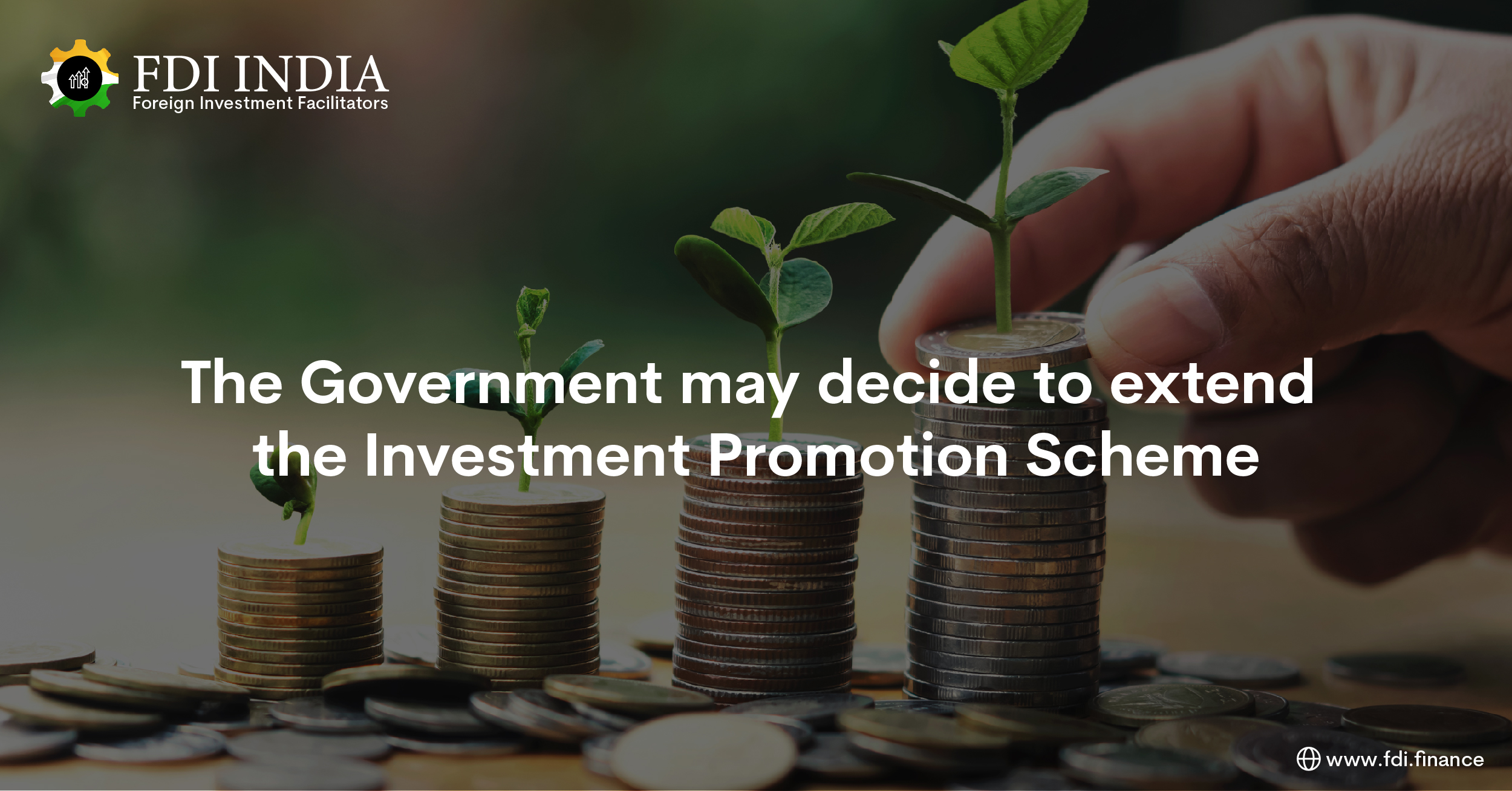 The Government May Decide to Extend the Investment Promotion Scheme