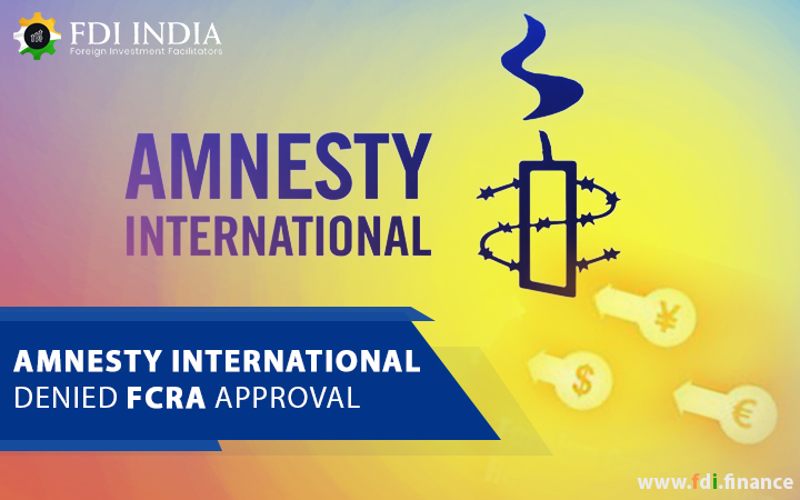 Amnesty International Denied FCRA Approval