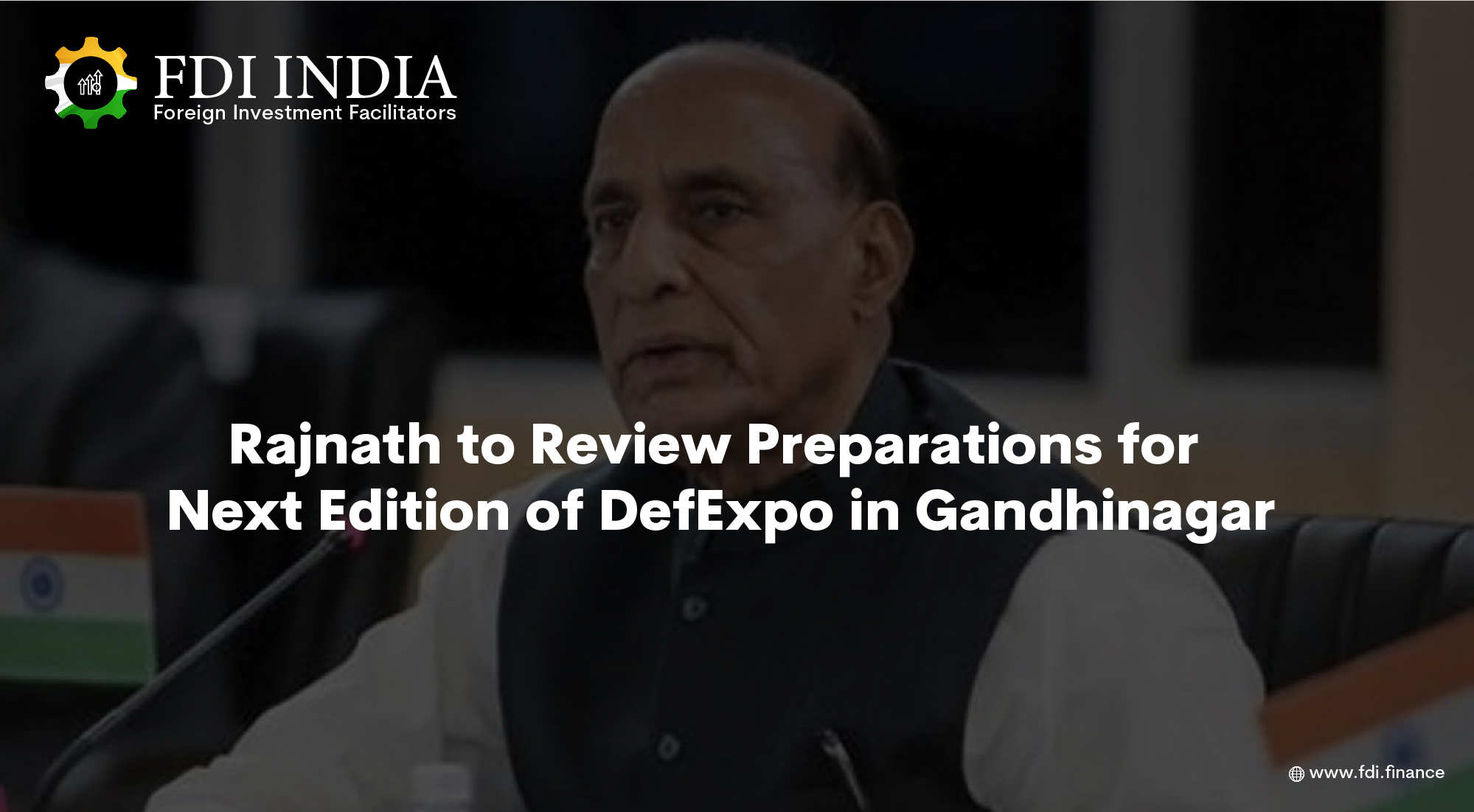 Rajnath to Review Preparations for Next Edition of DefExpo in Gandhinagar