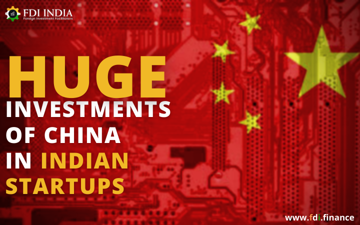 Huge Investments of China in Indian Startups