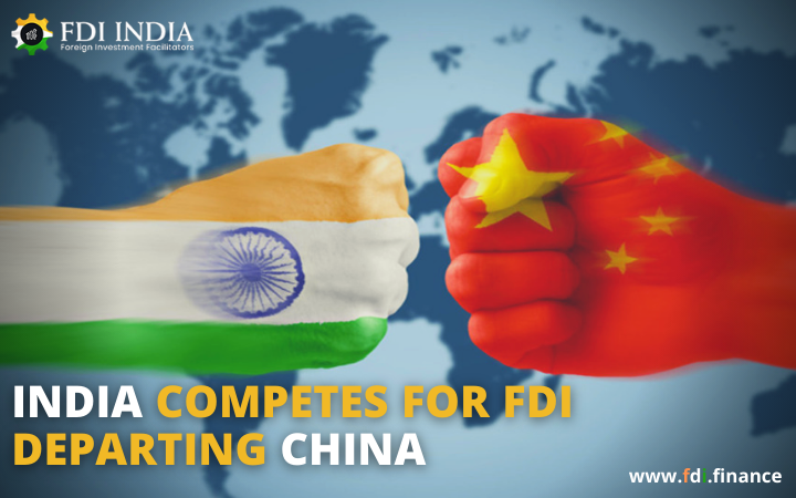 India Competes for FDI departing China