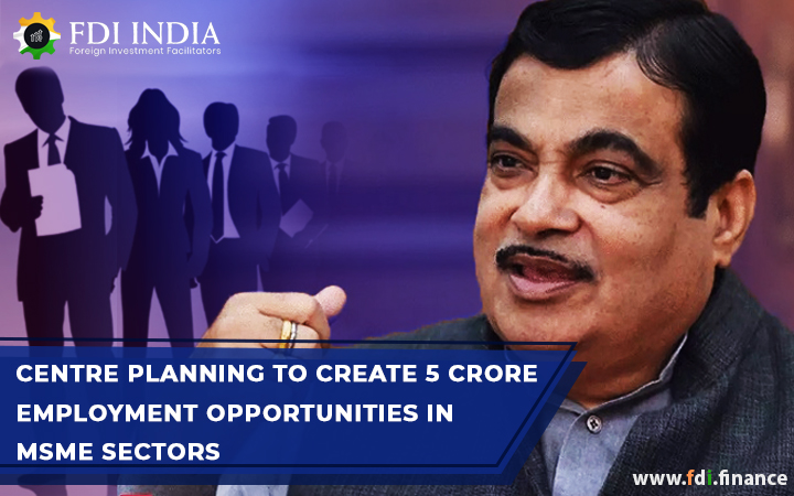Centre Planning To Create 5 Crore Employment Opportunities In MSME Sectors