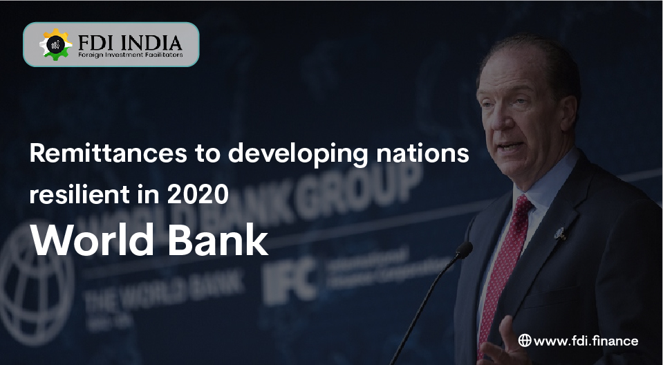 Remittances To Developing Nations Resilient In 2020 -World Bank