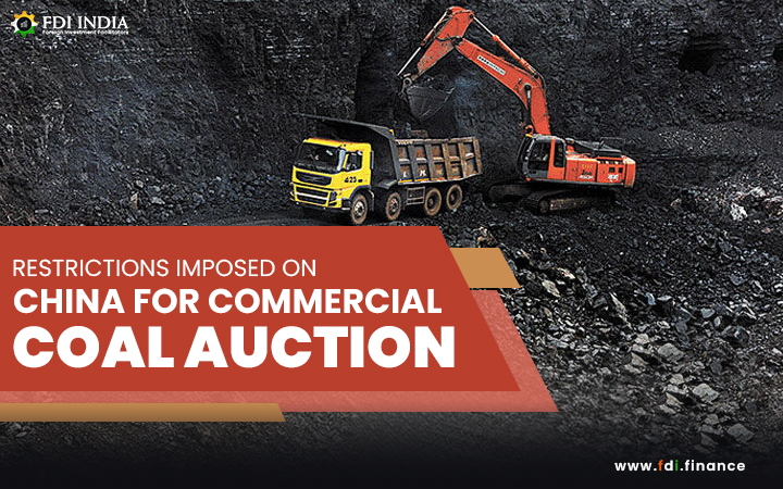 Restrictions Imposed on China for Commercial Coal Auction
