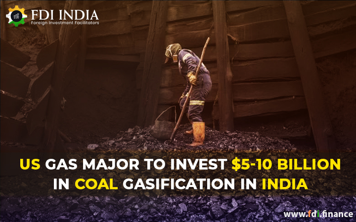US Gas Major To Invest $5-10 Billion In Coal Gasification In India