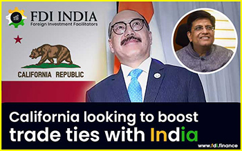 California Looking To Boost Trade Ties with India