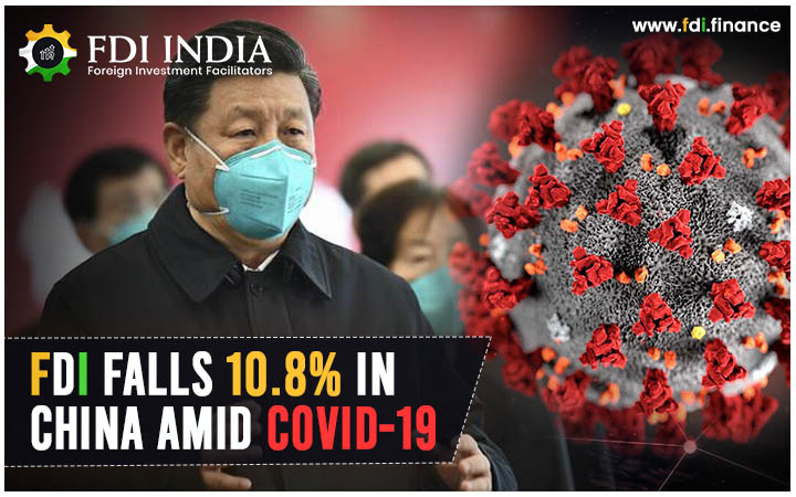 FDI Falls 10.8% in China amid COVID-19