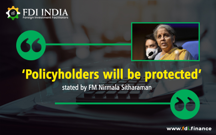 'Policyholders Will Be Protected' Stated By FM Nirmala Sitharaman