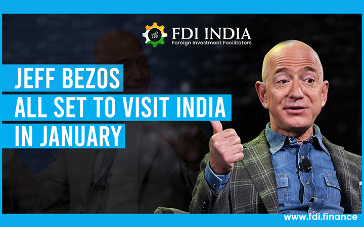 Jeff Bezos All Set To Visit India in January