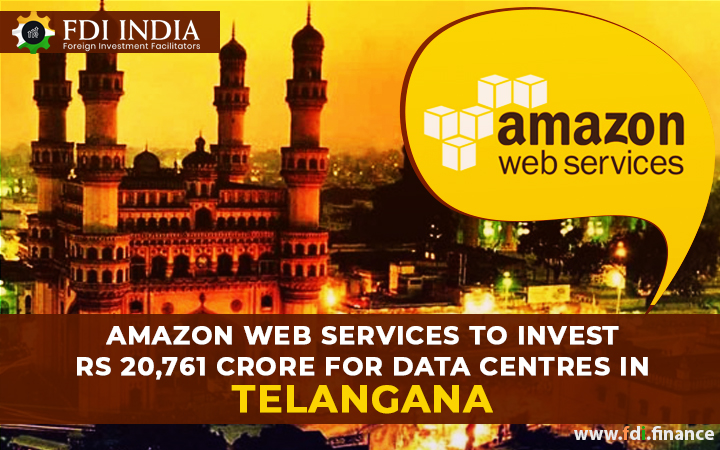 Amazon Web Services to invest Rs 20,761 crore for data centres in Telangana
