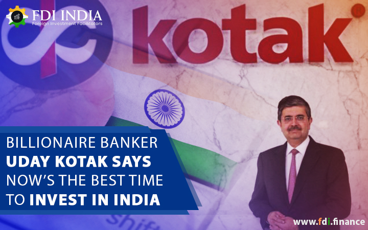 Billionaire Banker Uday Kotak Says Now's The Best Time To Invest In India, Lists 5 'Right Sectors'