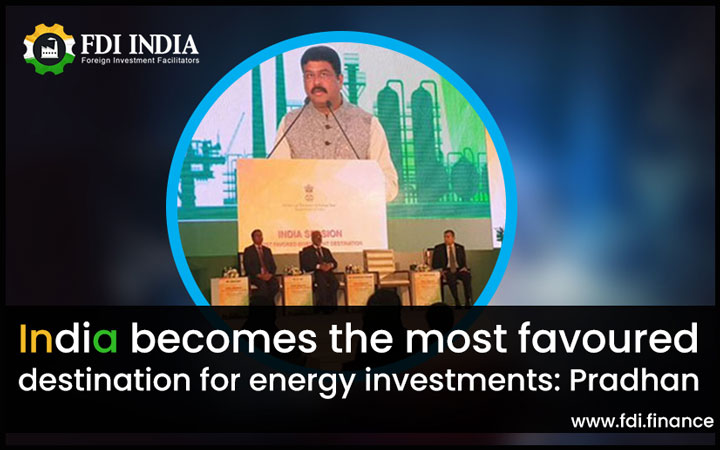 India Becomes the Most Favoured Destination for Energy Investments: Pradhan