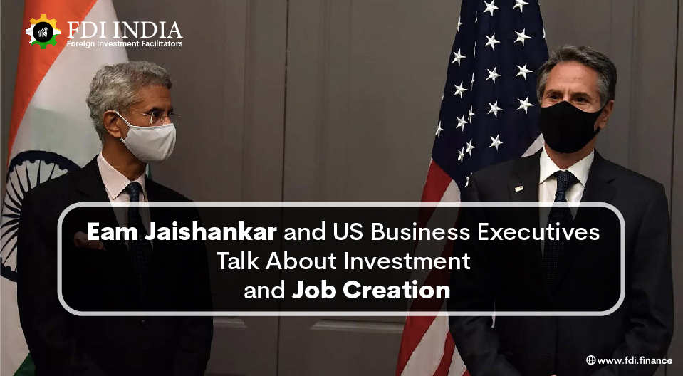 EAM Jaishankar and US Business Executives Talk About Investment and Job Creation