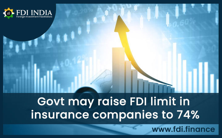 Govt May Raise FDI Limit In Insurance Companies To 74%