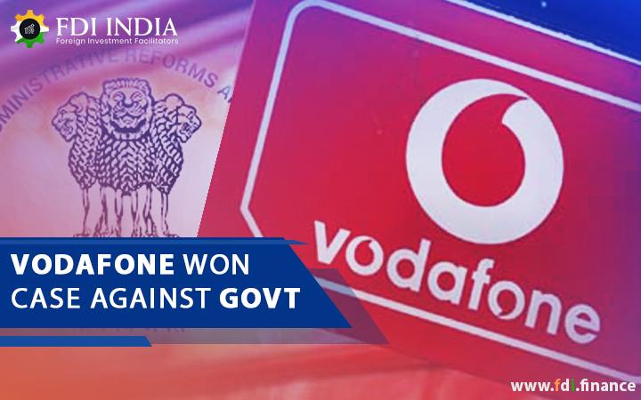 Vodafone Won Case Against Govt