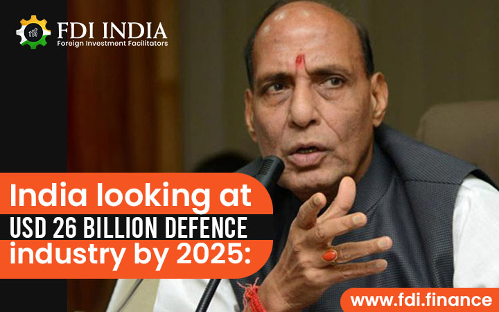 India Looking At USD 26 Billion Defence Industry by 2025: Rajnath Singh