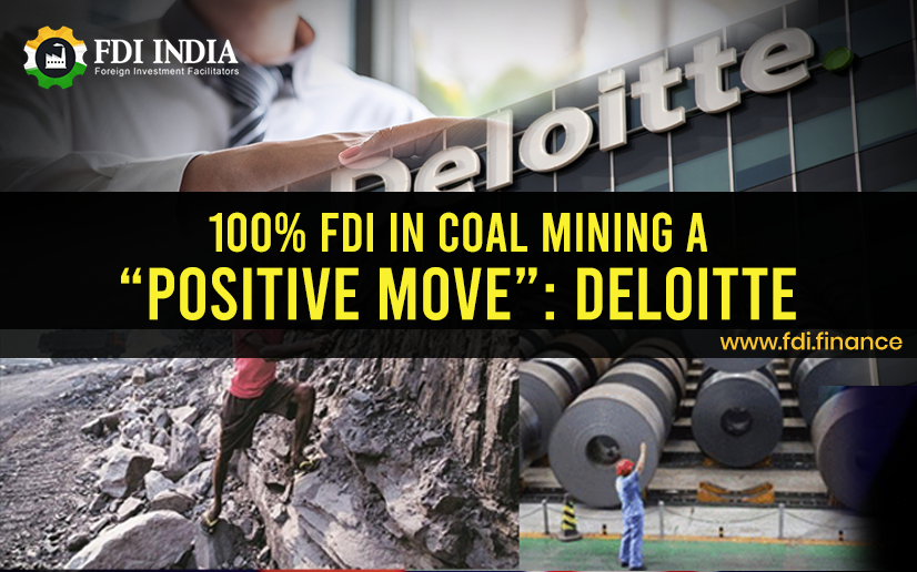 100% FDI in Coal Mining a