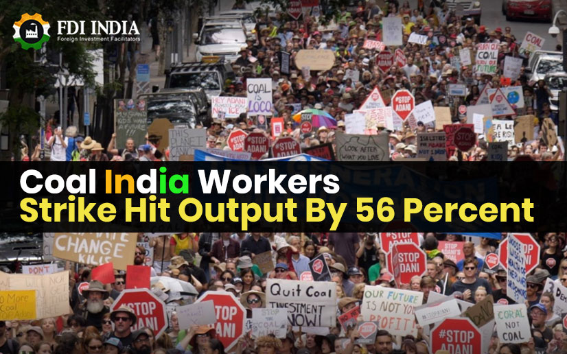 Coal India Workers Strike Hit Output By 56 Per Cent