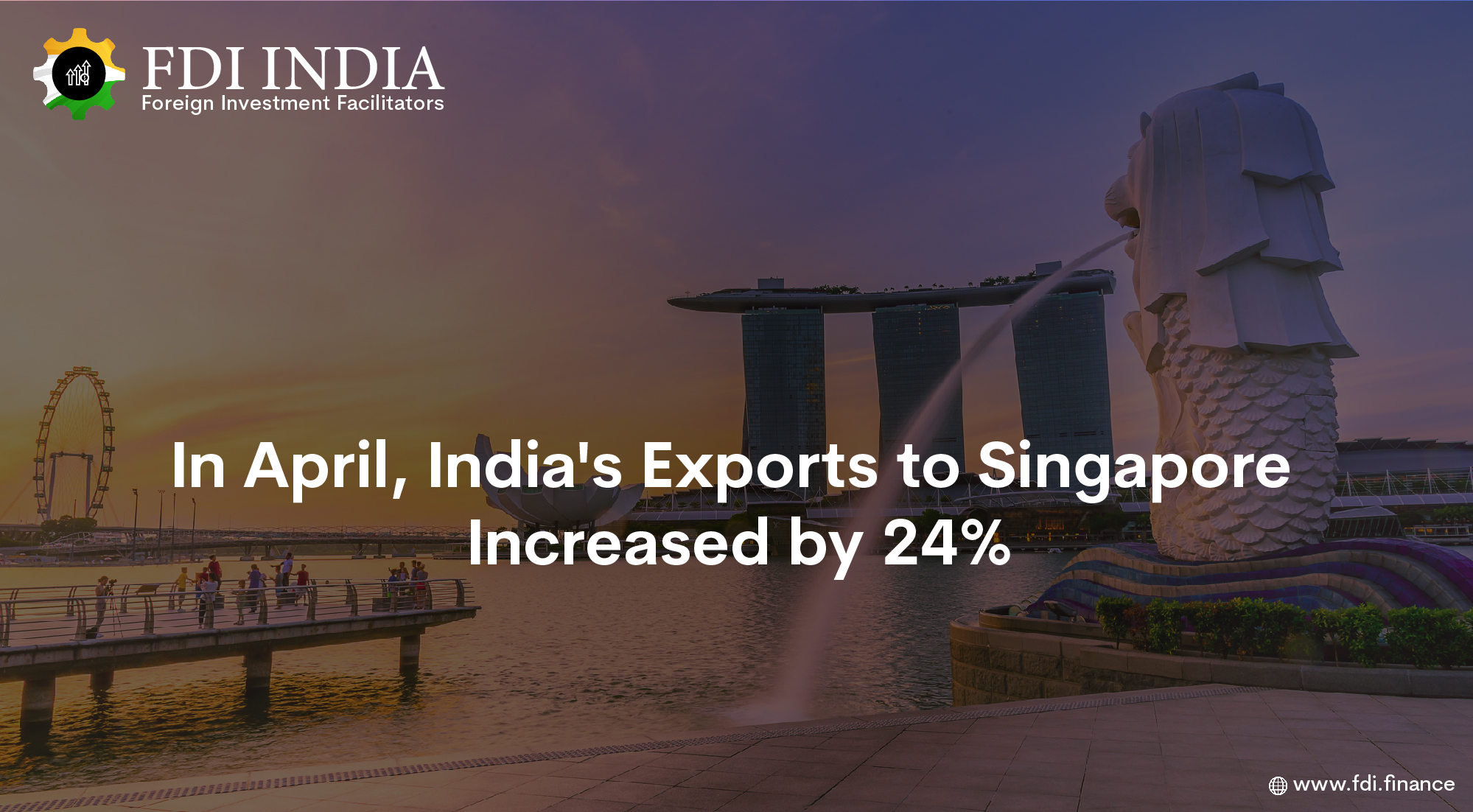 In April, India's Exports to Singapore Increased by 24%