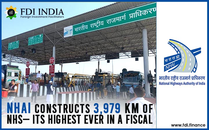 NHAI Constructs 3,979 km of NHs— Its Highest Ever in a Fiscal