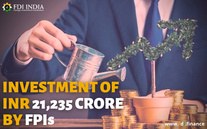 Investment of INR 21,235 Crore by FPIs