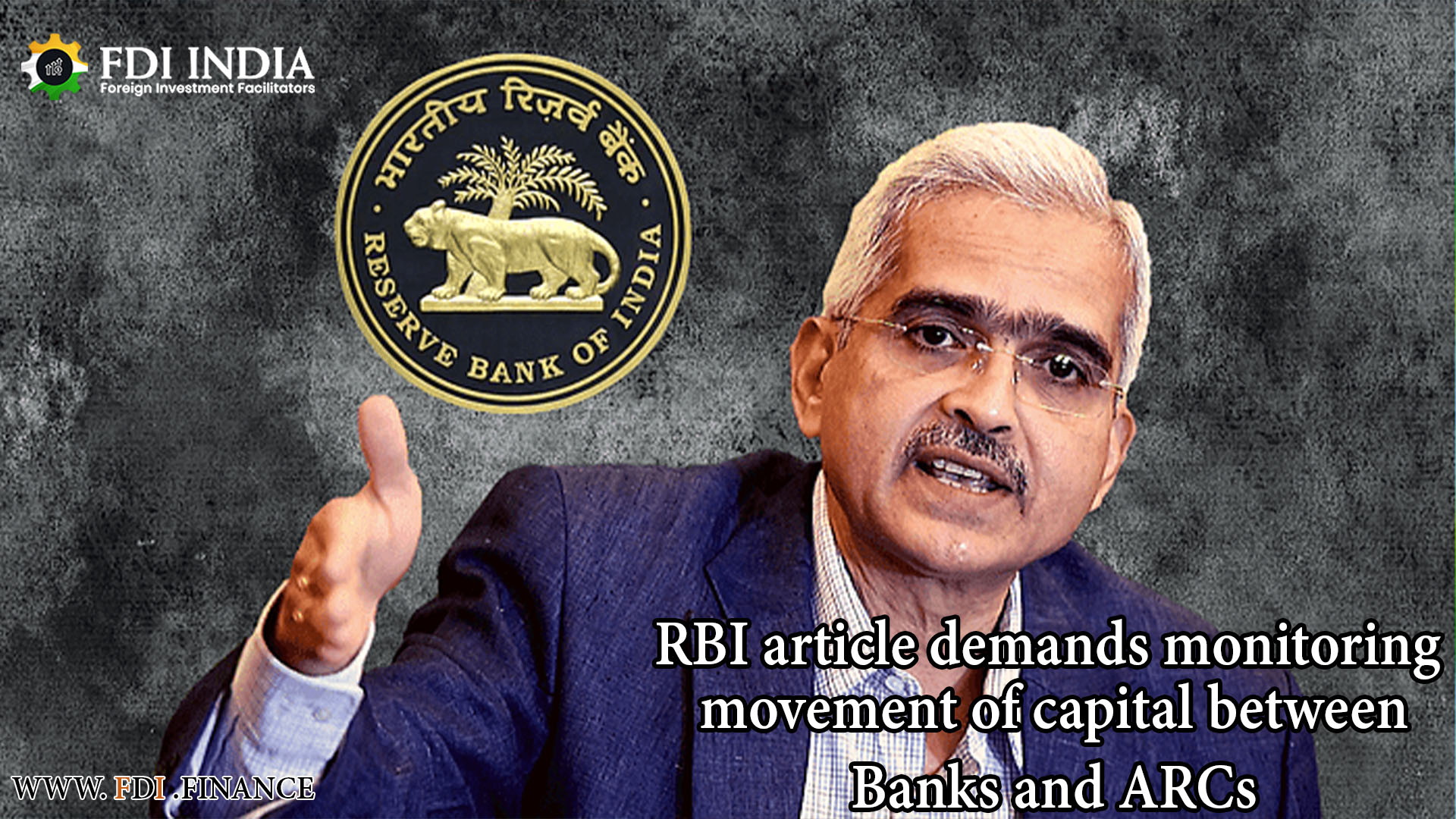 RBI Article Demands Monitoring Movement Of Capital Between Banks And Arcs