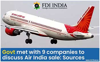 Govt Met With 9 Companies to Discuss Air India Sale: Sources