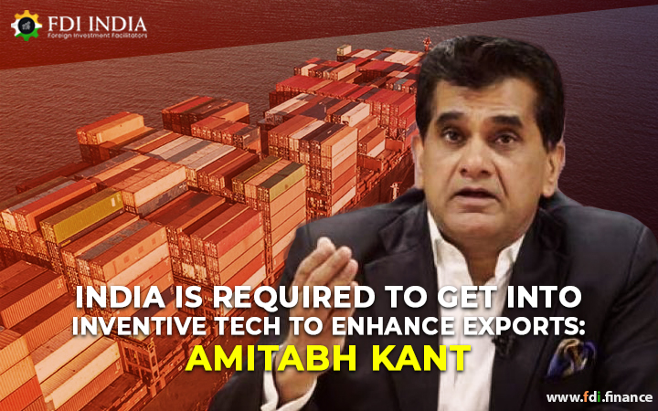 India Is Required To Get Into Inventive Tech To Enhance Exports: Amitabh Kant