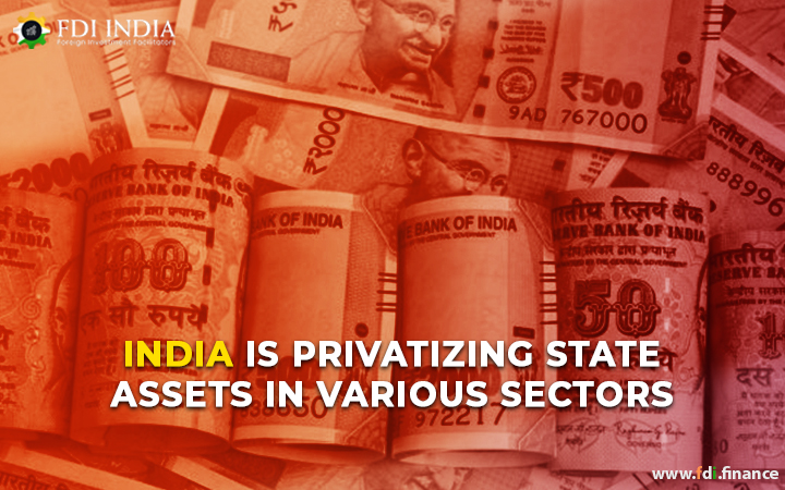 India Is Privatizing State Assets in Various Sectors