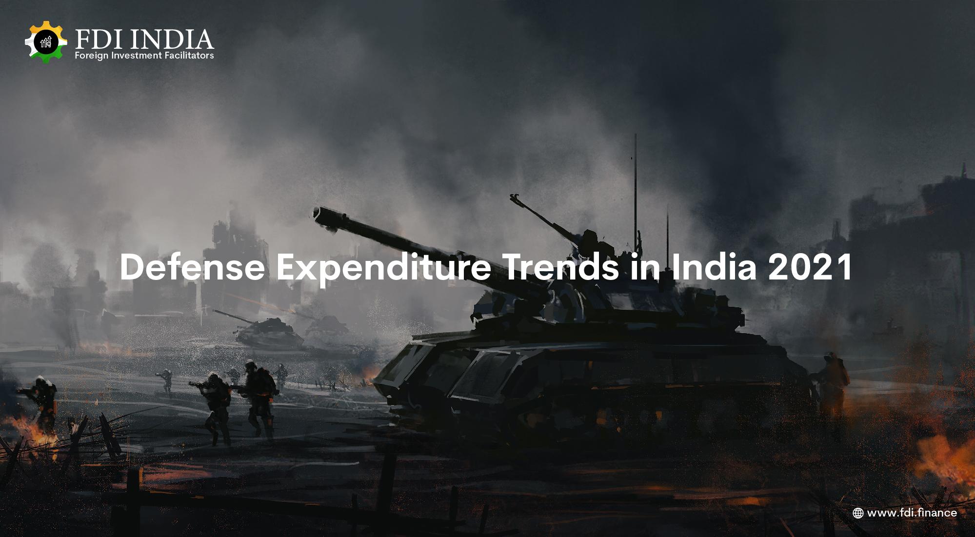 Defense Expenditure Trends in India 2021