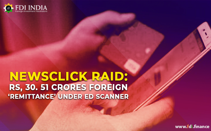 Newsclick Raid: Rs, 30. 51 Crores Foreign 'Remittance' Under ED Scanner