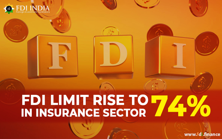 FDI Limit Rise to 74% in Insurance Sector