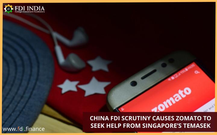 China FDI Scrutiny Causes Zomato to Seek Help from Singapore's Temasek