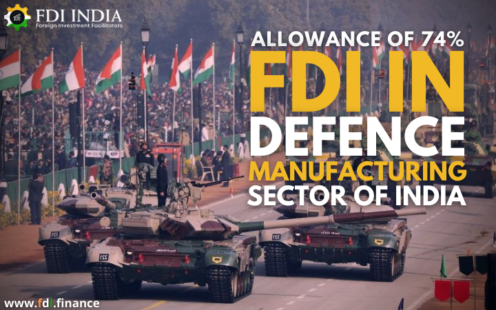 Allowance of 74?I in Defence Manufacturing Sector of India
