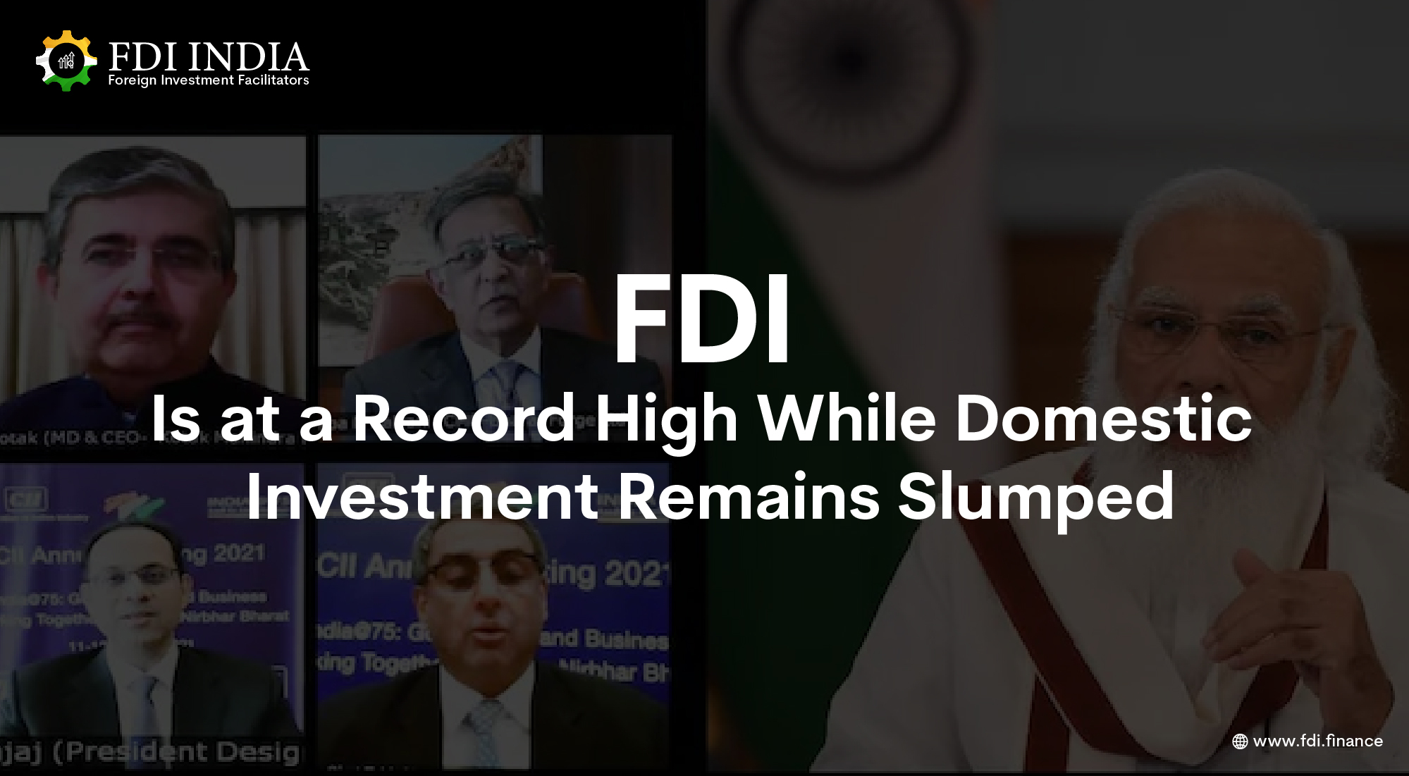 FDI Is at a Record High While Domestic Investment Remains Slumped