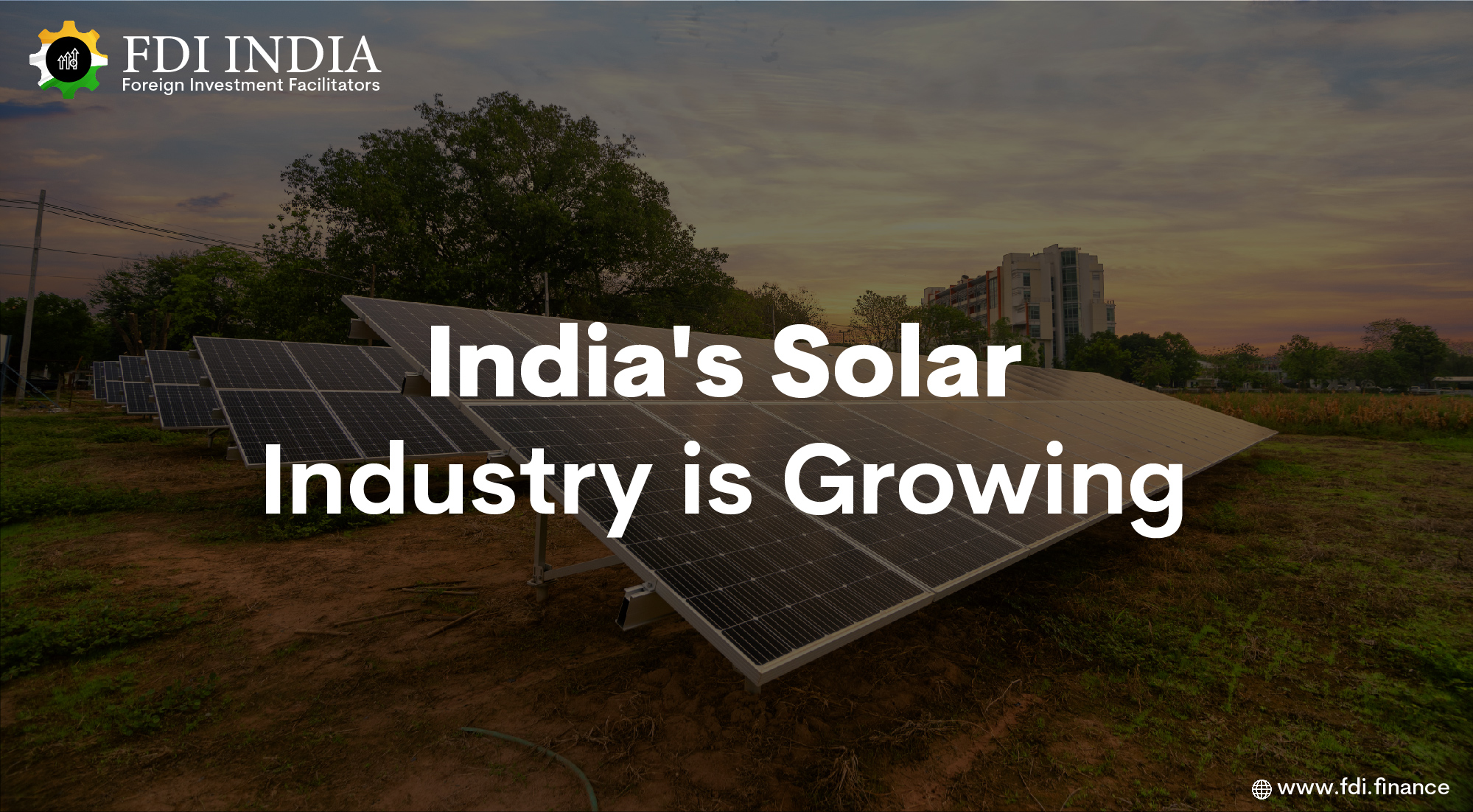 India's Solar Industry Is Growing