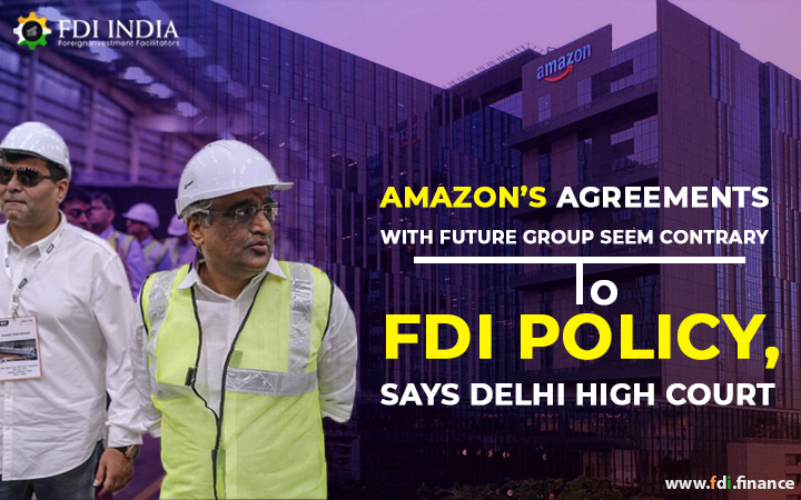 Amazon's Agreements With Future Group Seem Contrary To FDI Policy, Says Delhi High Court