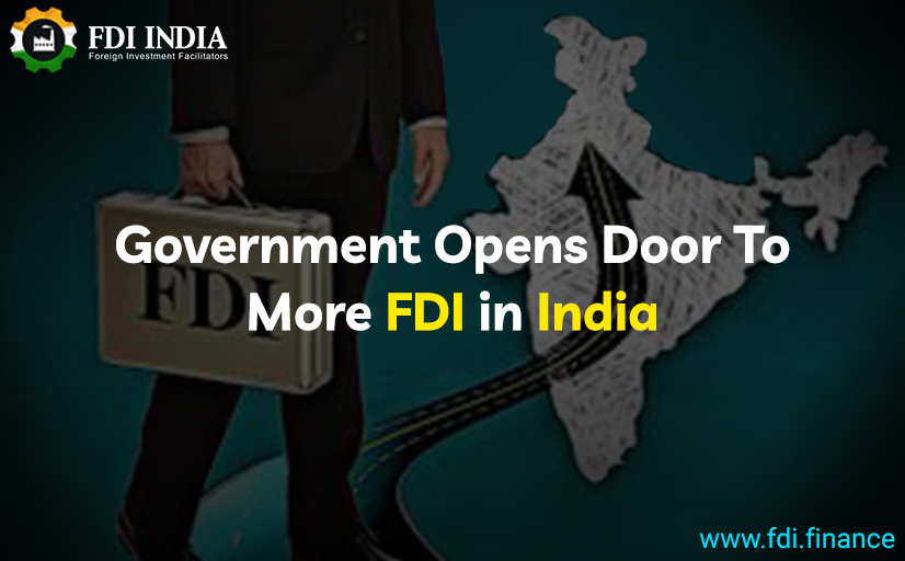 Government Opens Door To More FDI In India