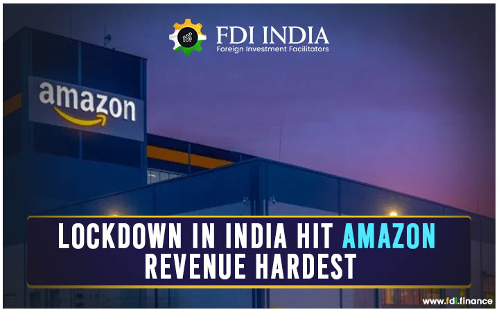 Lockdown in India Hit Amazon Revenue Hardest