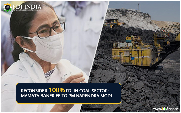 Mamata Banerjee Urges The Prime Minister To Reconsider Decision Of 100?I In Coal Sector