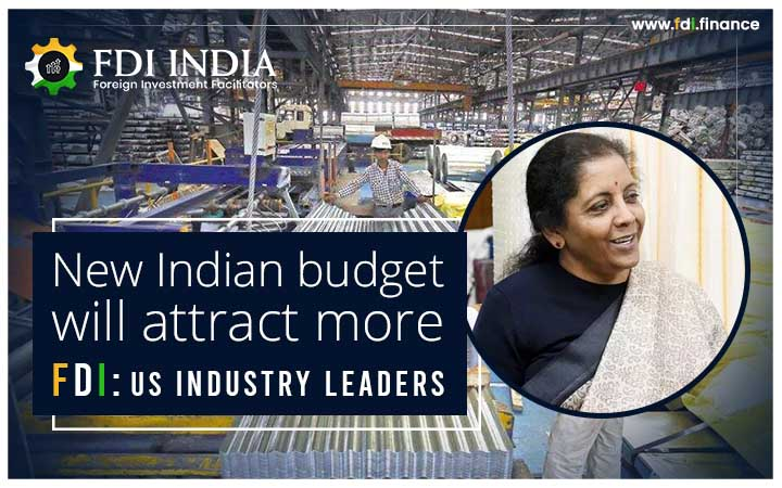 New Indian Budget Will Attract More FDI: US Industry Leaders
